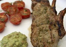 Shawarma Marinated Pork Chops