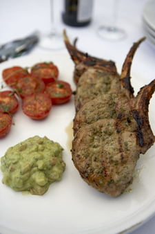 Shawarma Marinated Pork Chops